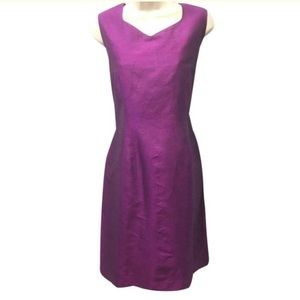 Worthington Silk Purple Sleeveless Dress Size 12